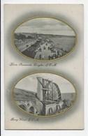 Harris Promenade, Douglas/Laxey Wheel,  I.O.M. - Tuck 1375 - Isle Of Man