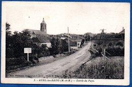 Avril Les Bains  / Entrée Du Pays - Otros Municipios