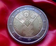 Estonia 2 Euro 2018 Independence Of Baltic States   Coin  CIRCULATED - Estland
