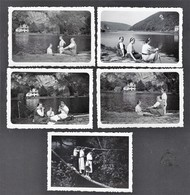 HERMETON * 1938 * 5 SNAPSHOTS * 8.5 X 6 CM - Plaatsen