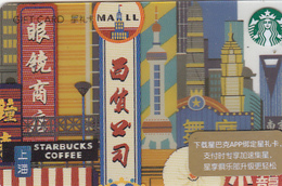 Starbucks 2018 China City Shanghai Gift Card  RMB100 - Cina