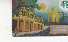 Starbucks 2018 China City Guang Zhou Gift Card  RMB100 - Chine