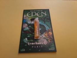 Eden Cacharel Echantillon Sur Carte 1,5 Ml - Cartes Parfumées