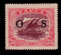 Papua ,1931 ,  2/6d  Marron & Rosa , Officialy Opted , SG.O66 ,  MNH** - Unclassified