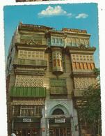 CPSM ,Yemen, N°1151/61 , A. House In Old Jeddah Ed. Said H. Salah - - Yémen