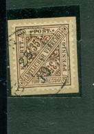 Württemberg, Wertziffern , Nr. 226 Gestempelt Auf Briefstück - Wuerttemberg