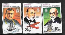 British Antarctic Territoty   Série 105/107** Superbe - Territoire Antarctique Britannique  (BAT)