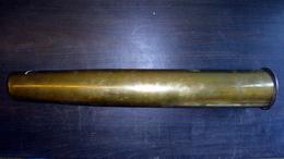 Douille D'obus De 75mm De Marine Schneider Canet - 1939-45