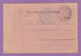 K.U.K. MINEN KOMMANDO,MARINE FELDPOST,POLA(KROATIEN)1916. - Briefe U. Dokumente