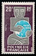 POLYNESIE 1970 - Yv. 77 NEUF   Cote= 9,00 EUR - Association Touristique 'PATA'  ..Réf.POL23819 - Polynésie Française