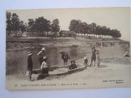 CARTE POSTALE SAINT VALERY SUR SOMME BAINS DE LA FERTE - Saint Valery Sur Somme