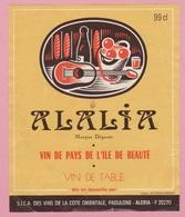 Etiquette De VIN - CORSE - LOT DE 11 PC - Etichette