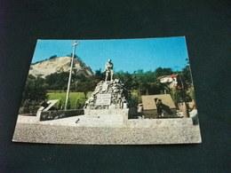 MONUMENTO AI CADUTI 4° REGGIMENTO ART. ALPINA  VILLANOVA MONDOVI' PIEMONTE  CANNONE STATUA ALPINO - Monumenti Ai Caduti
