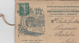 "Ancienne Enveloppe ""Henry Ely - Photographie - Aix-en-Provence"" - France"