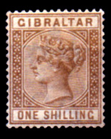 Gibraltar , QV. 1/ Brown,  14,  MNH** - Unclassified
