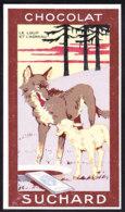 CHROMO Chocolat SUCHARD Fable La Fontaine Le Loup & L'agneau  Wolf   Serie 249 - Suchard