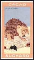 CHROMO Chocolat SUCHARD Fable La Fontaine Le Lion Et Le Rat   Lion  Serie 249 - Suchard