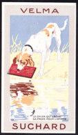 CHROMO Chocolat SUCHARD Fable La Fontaine Le Chien Et L'ombre    Dog Shadow   Serie 249 - Suchard