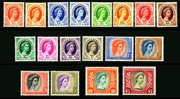 Rhodesia & Nyasaland,  1954 , 1st Set , SG.1/15  With Var.  MNH** - Unclassified