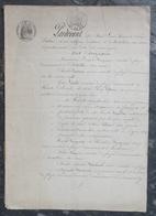 Maîtres De Forges à Chatillon/Seine,Sainte-Colombe(21), Commentry, Ancy-le-Franc,Riel-les-Eaux,Saint-Bonnet-le-Désert - Manuscrits