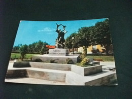MONUMENTO AI CADUTI CARRU' CUNEO PIEMONTE - Monumenti Ai Caduti