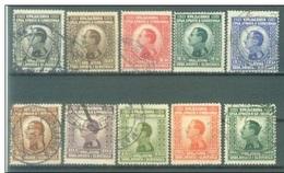 YU 1923-176-85 DEFINITVE, YUGOSLAVIA, 1 X 10v, Used - 1919-1929 Königreich Der Serben, Kroaten & Slowenen