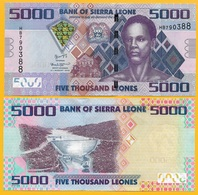 Sierra Leone 5000 Leones P-32 2015 UNC Banknote - Sierra Leone