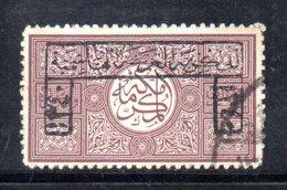 APR517 - ARABIA SAUDITA  HEDJAZ 1922 , Yvert N. 20 Usato   (2380A) . - Arabia Saudita