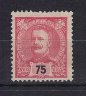 Portugal Yvert 135 (*) Neuf Sans Gomme 1895/1905 (9) - 1892-1898 : D.Carlos I