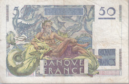 50 F 1946 ''Le Verrier'' - 1871-1952 Circulated During XXth