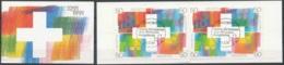 [807798]Suisse 1991, 700 Ans D'art Et Culture, Le Carnet Avec Obl 1er Jour (4 CHF), Avec Sa Pochette - FDC