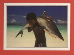 CP20 FICHES ASIE LES MALDIVES C1 - Cartes