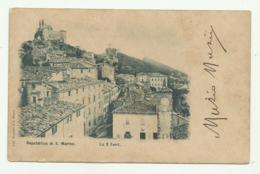 REPUBBLICA DI S.MARINO - LE 3 TORRI   VIAGGIATA FP - San Marino