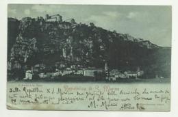 REPUBBLICA DI S.MARINO - IL BORGO E LA PIEVE    VIAGGIATA FP - San Marino