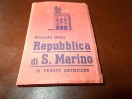 B721   Libretto San Marino Cm9x6 Presenza Lievi Pieghe - San Marino