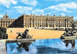 78 Château De Versailles Vu De La Fontaine De Diane (2 Scans) - Versailles (Château)