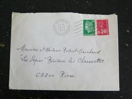 VINCA - PYRENEES ORIENTALES - FLAMME MUETTE SUR MARIANNE CHEFFER ET BEQUET - Marcophilie (Lettres)