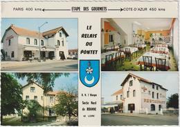 """Loire , """" Relais  Du  Pontet """"  Riorges - Roanne  , Route  National 7 - France"""