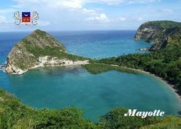 Mayotte Petite Terre Moya Beach New Postcard - Mayotte