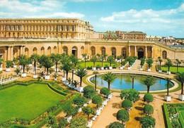 78 Versailles Le Château Le Jardin De L'Orangerie Et La Pièce D'eau Des Suisses (2 Scans) - Versailles (Château)