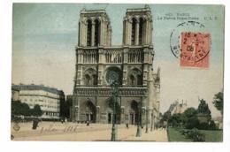 165. Paris - Le Parvis Notre-Dame - Circ 1906, Colorisée - Notre Dame De Paris