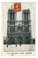Collection Petit Journal - Paris - Notre-Dame (parvis) Circulé 1910 - Notre Dame De Paris