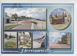 Hermanville Sur Mer - Multivues En Normandie - France