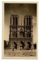 Paris...en Flanant - Notre-Dame (façade) - Front Of Chirch Notre-Dame - Pas Circulé - Notre Dame De Paris