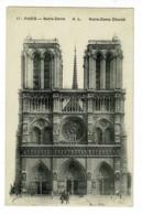 17 - Paris - Notre-Dame (parvis) - A.L - Notre-Dame Church - Circ Sans Date - Notre Dame De Paris