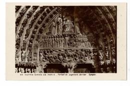 59 - Notre-Dame De Paris - Portail Du Jugement Dernier - Tympan - Pas Circulé - Notre Dame De Paris