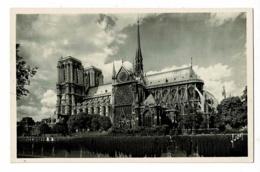 Paris... En Flanant - 4 Notre-Dame Et Le Square De L'Archvêché - Circ Sans Date - Notre Dame De Paris