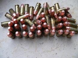 Lot De 50 Cartouches 9mm Para Neutralisées - Decorative Weapons