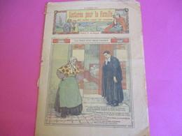 Hebdo Pour La Famille/Illustré/LECTURES Pour La FAMILLE/Pas Pour Cent Mille Francs/Imp Feron-Vrau,Paris/1914      BD122 - Other