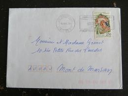 PROPRIANO - CORSE - FLAMME DOUBLE CERCLE GOLFE DU VALINCO SUR YT 2763 CHATEAU DE BIRON DORDOGNE - Marcophilie (Lettres)
